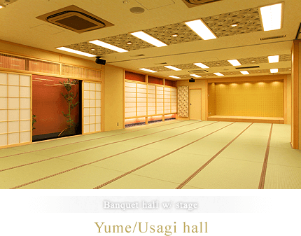 Yume/Usagi hall