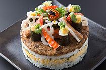 お寿司ケーキ 写真