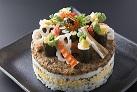 当館名物 寿司ケーキ